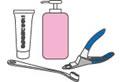 美容用品(歯磨き・爪切り・耳掃除・各種シャンプー)